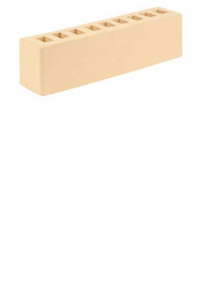 Кирпич половинка 0,5 NF, солома, Старооскольский