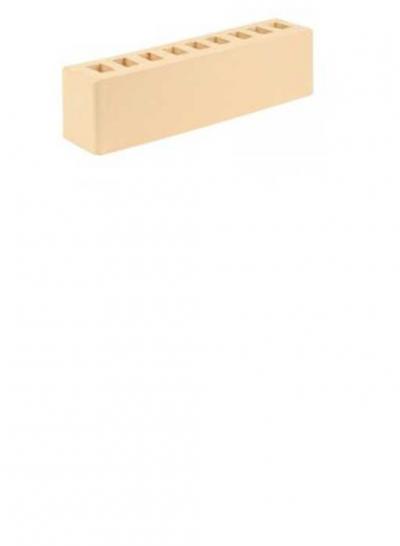 Кирпич гладкий 0.5 НФ Слоновая кость