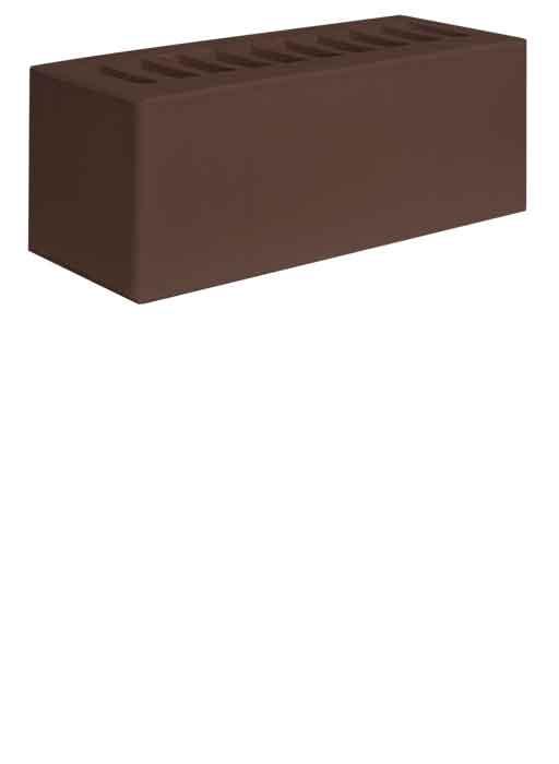 Кирпич керамический 0.9 НФ Коричневый Гладкий