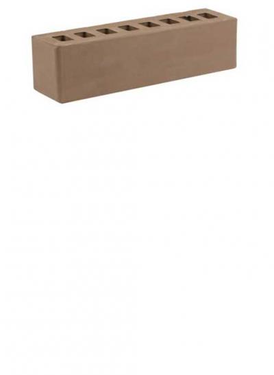 Кирпич коричневый половинка ЖКЗ 0,5 NF
