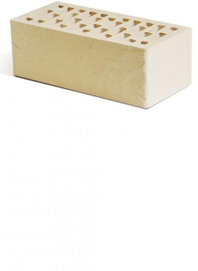 Кирпич Маркинский светло-бежевый, скала, полуторный