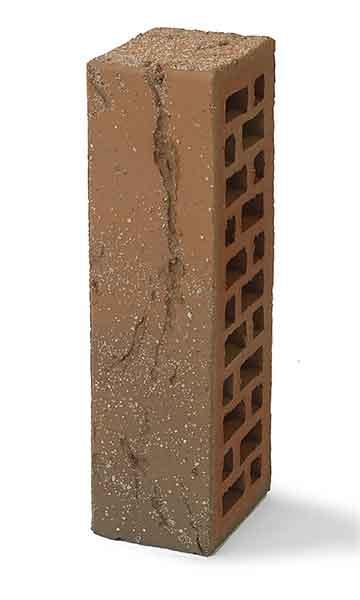 Облицовочный кирпич БАВАРСКАЯ КЛАДКА кора дуба с песком 0,7 NF