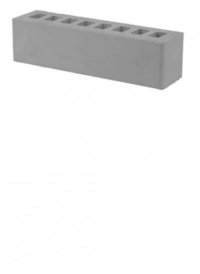 Кирпич серый половинка ЖКЗ 0,5 NF