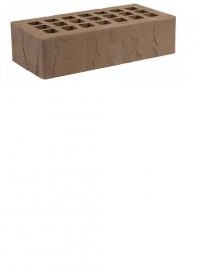 Кирпич коричневый скала ЖКЗ