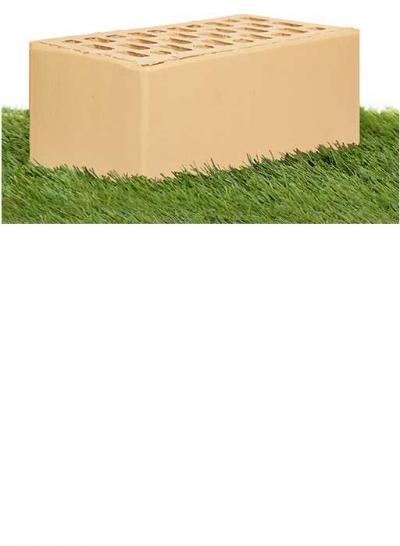 Кирпич гладкий 1.4 НФ Слоновая кость