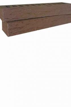 Кирпич керамический 0.75 НФ Ригельный Коричневый