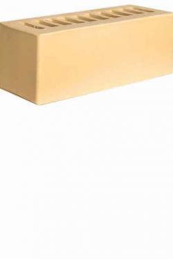 Кирпич керамический 0.9НФ Жёлтый Гладкий