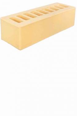 Кирпич керамический 0.7НФ Жёлтый Гладкий